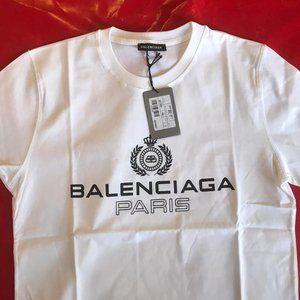 BALENCIAGA MEN SHORT SLEEVE T-SHIRT 100% COTTON